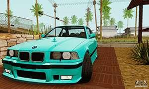 BMW E36 M3 1997 Stock pour GTA San Andreas