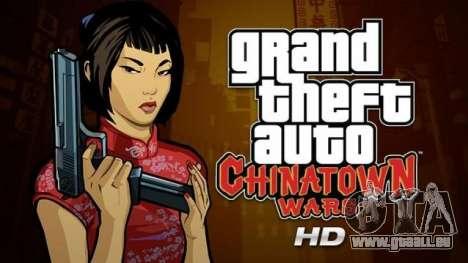 Communiqués de GTA pour iPad: Chinatown Wars