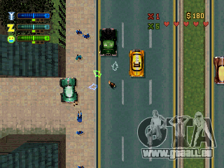 Versionen von GTA 2: PS-Version in Nordamerika