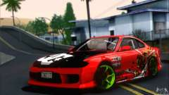 Nissan Silvia S15 Team Drift Monkey für GTA San Andreas