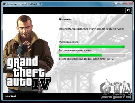 GTA 4 pour Windows: communiqué de PAL-version