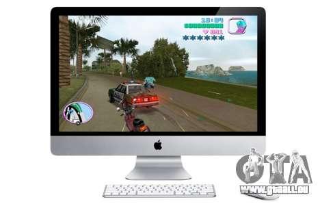 Communiqué de GTA VC pour OS X en Amérique du Nord