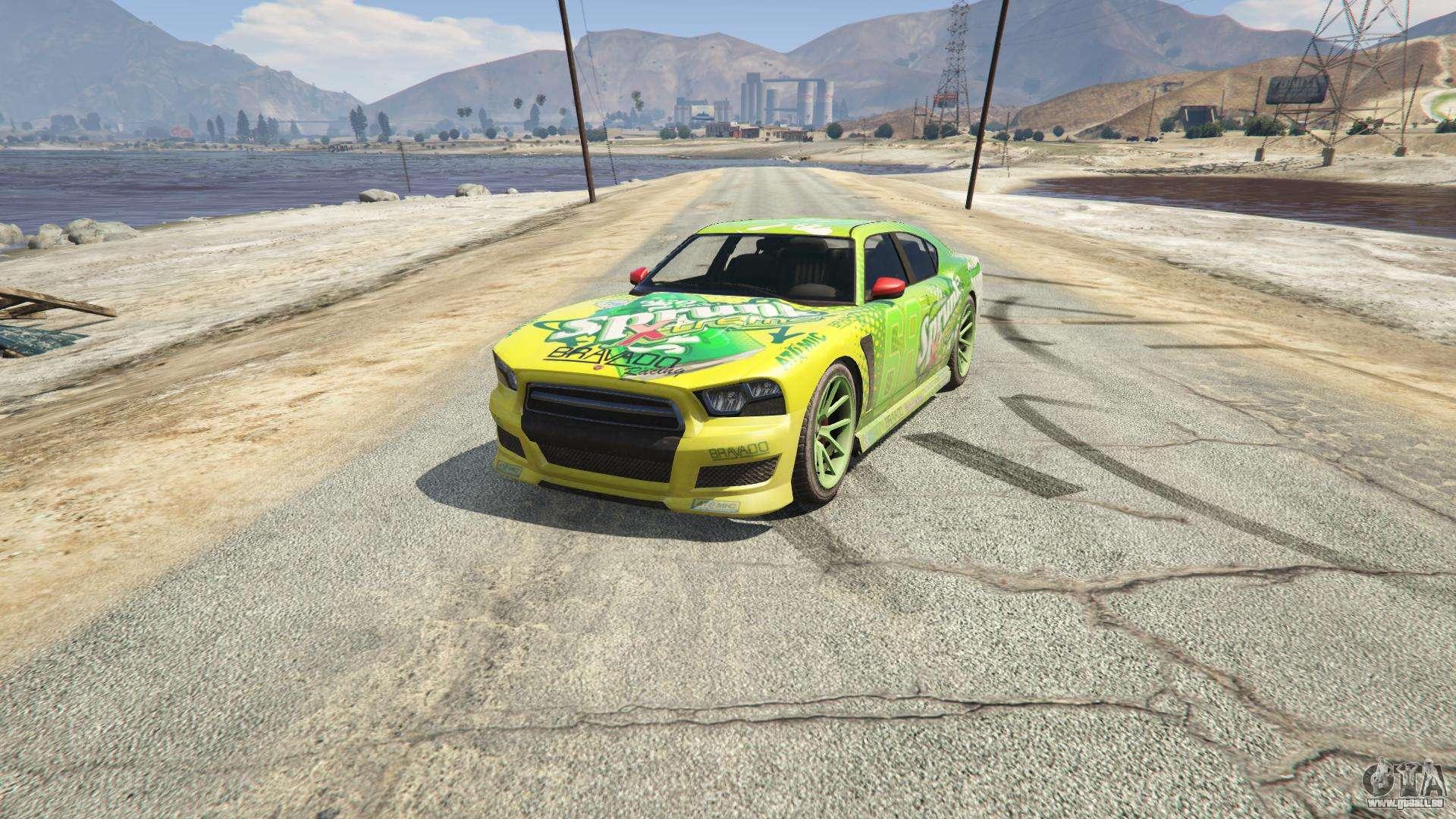 Sprunk Buffalo S GTA 5 - Frontansicht
