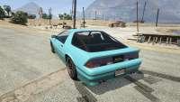 Imponte Ruiner GTA 5 - vue de l'arrière