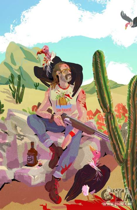 Trevor in the Desert