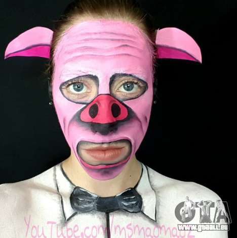 Schweine-Maske