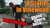 GTA 5 pas à pas - d'Une Starlette en Vinewood