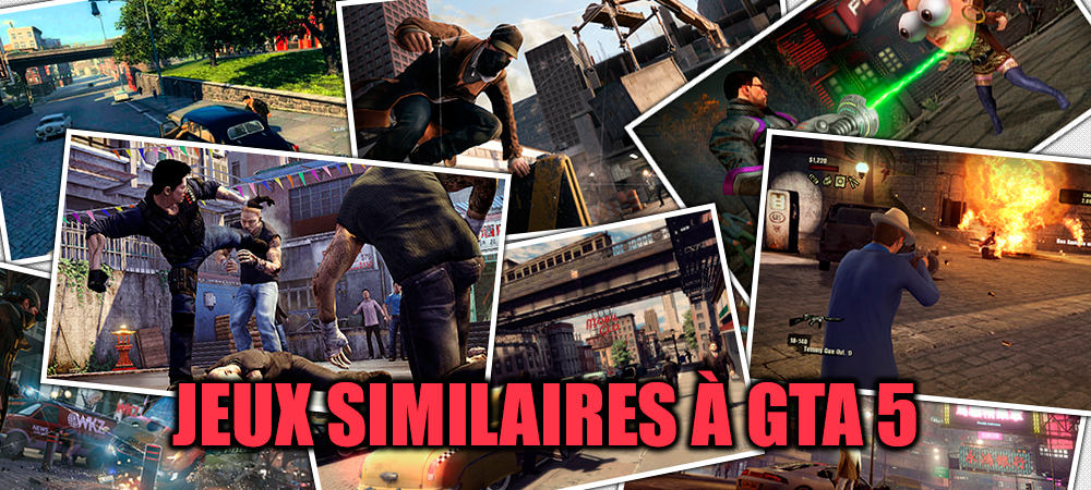 Jeux similaires à GTA 5