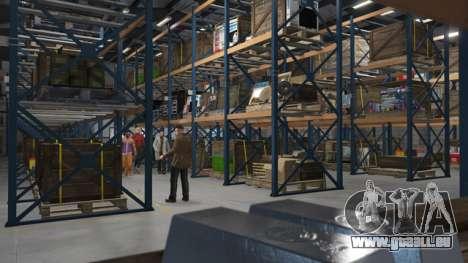 Organisation des Lagers in GTA Online