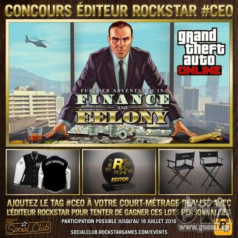 #CEO Rockstar, l'Éditeur du concours