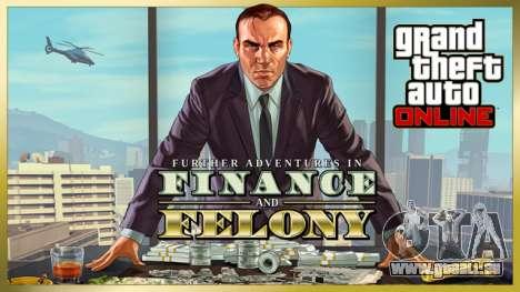 mise à Jour de GTA Online: Haute finance et basses besognes est déjà disponible!