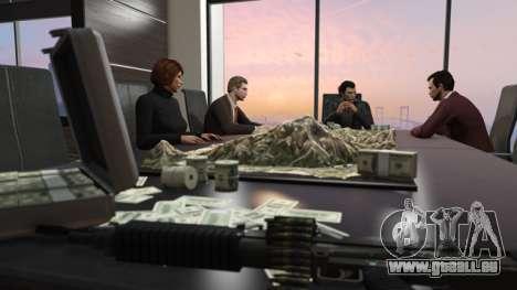 les Dirigeants d'un syndicat du crime dans GTA Online