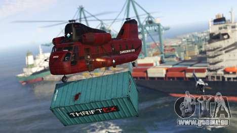 livraison de la Cargaison dans GTA Online
