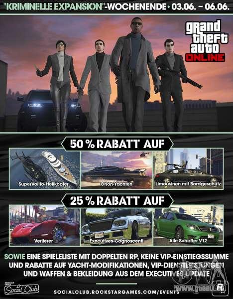 Kriminelle Expansion in GTA Online