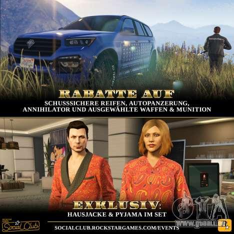 Exklusive Inhalte und spezielle Angebote in GTA Online