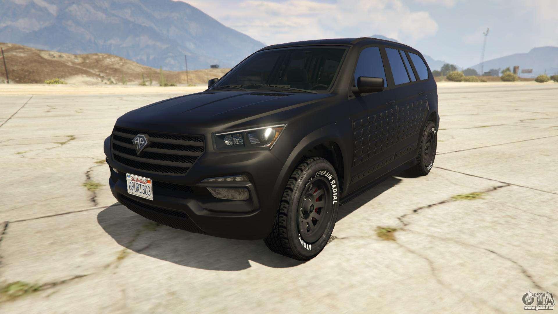 Benefactor XLS (Armored) de GTA Online - vue de face