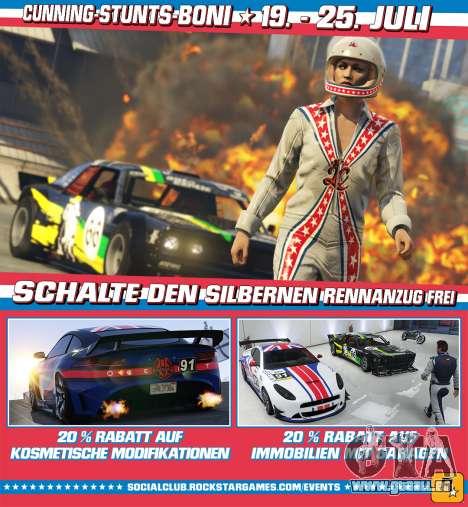 Boni und Rabatte in GTA Online