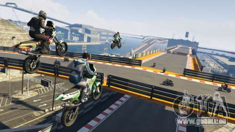 Ciel motards GTA Online
