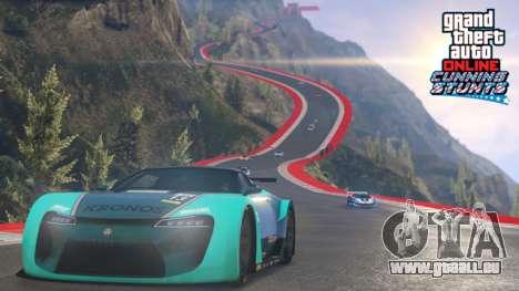 Nouvelles races et les véhicules dans GTA Online