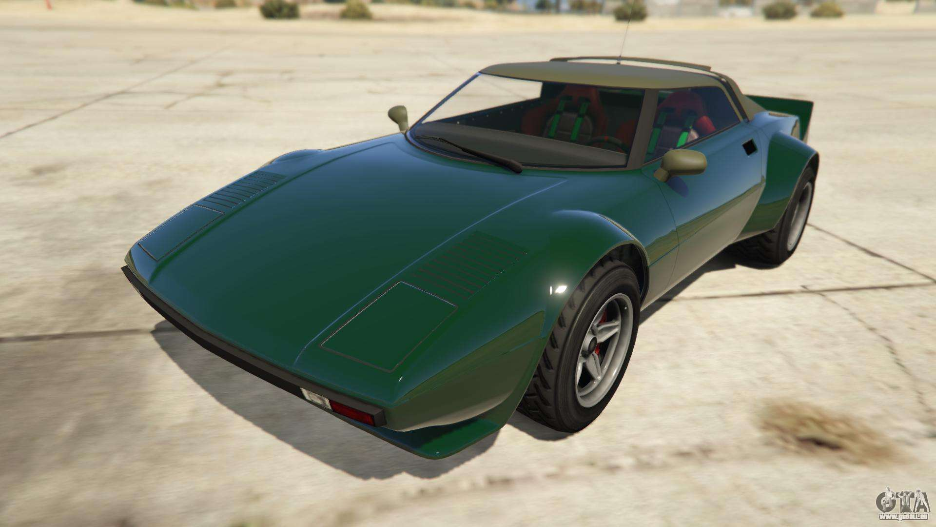 Lampadati Tropos Rallye de GTA Online - vue de face