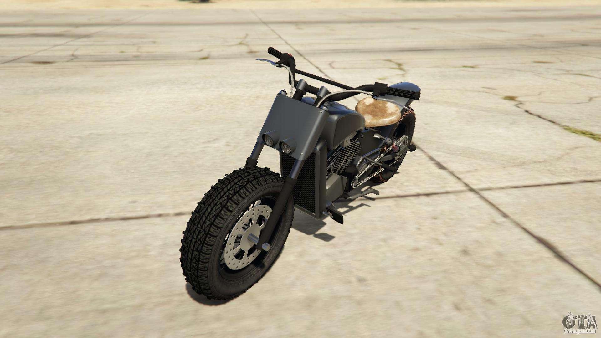 Western Motorcycle Company Gargoyle aus GTA Online - Vorder-Ansicht