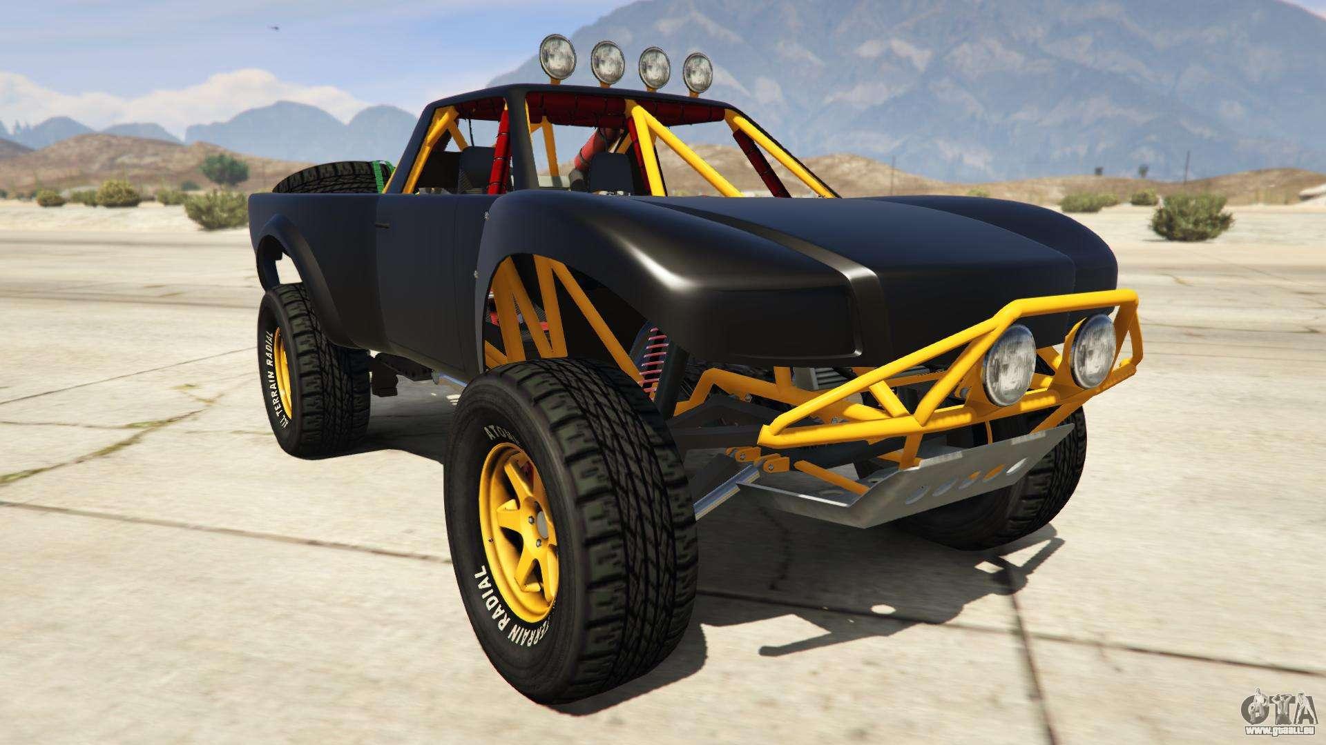 Vapid Trophy Truck de GTA Online - vue de face