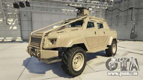 HVY Insurgent Pick-Up Custom de GTA 5