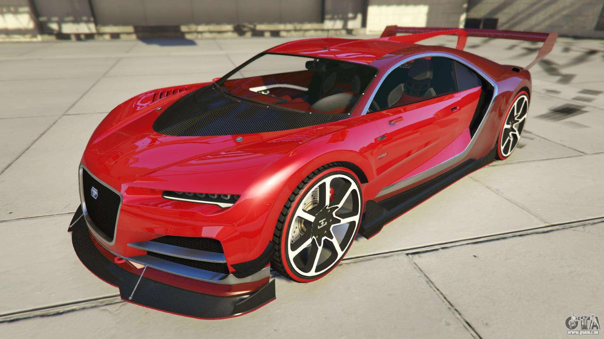 Truffade Nero Custom de GTA Online