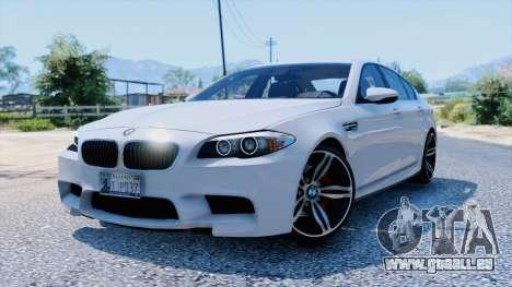 BMW M5 dans GTA 5