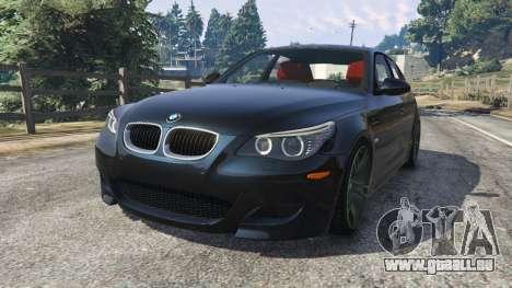 BMW M5 (E60) dans GTA 5