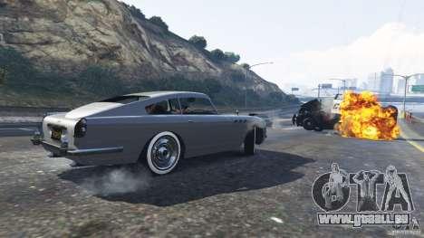 La voiture de James Bond de GTA 5