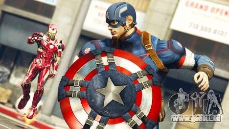 The Avengers i GTA 5