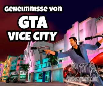Geheimnisse von gta vice city