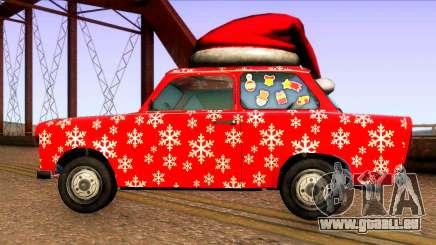Noël de voitures pour GTA San Andreas