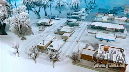 L'hiver mod pour GTA San Andreas