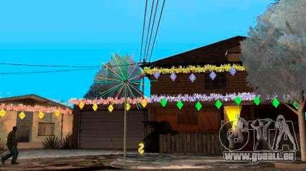 Décoration de noël dans GTA San Andreas