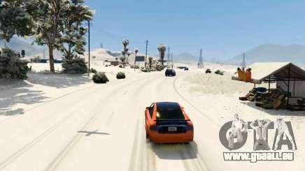 La neige mod pour GTA 5