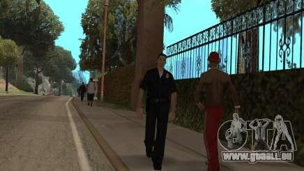 La police dans GTA SA