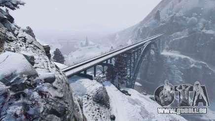 L'hiver dans GTA 5