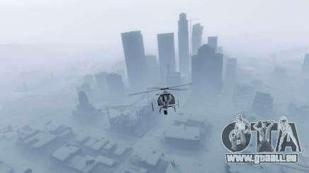Nouvelle année, la ville de GTA 5