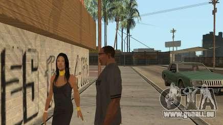 Comment faire pour augmenter la sexualité dans GTA San Andreas