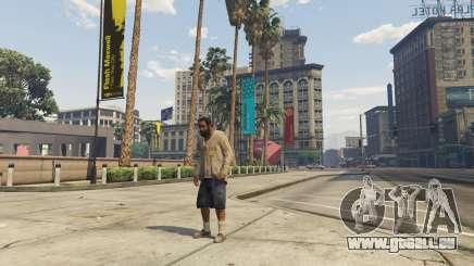 Le personnage dans GTA 5 Online