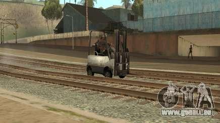 La mission du camion dans GTA SA