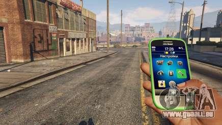 L'app iFruit dans GTA 5