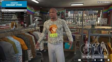 Comment faire pour changer de vêtements dans GTA 5