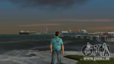 Wie übergeben Sie die mission mit einem Boot in GTA VC