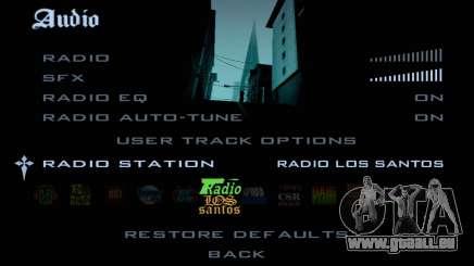 La Radio de GTA SA