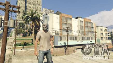 Comment faire pour supprimer un masque dans GTA 5