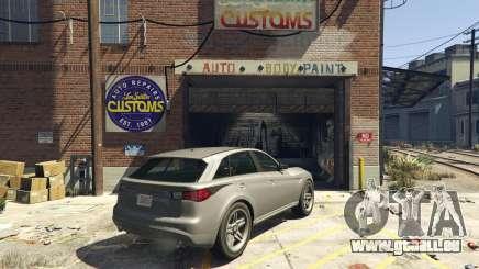 Vente de voitures dans GTA 5