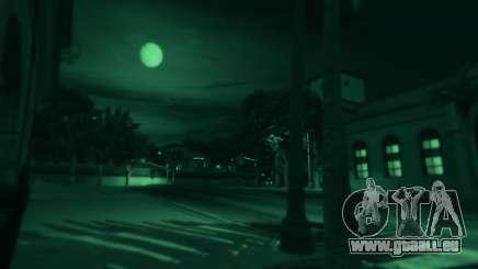 Vision de nuit dans GTA 5